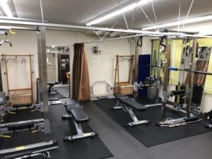 パーソナルトレーニングジム新宿店トレーニングルーム