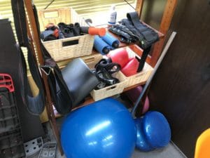 MIYAZAKI GYM新宿店のトレーニング器具小物類